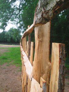 Charlecote Paling fence