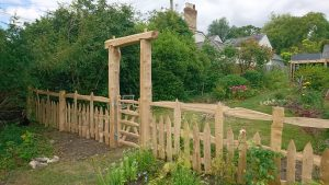 Stowe Paling heartwood