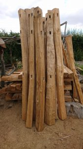 #cleft oak #oak posts
