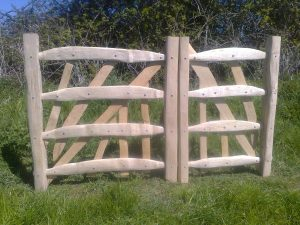 cleft oak gate